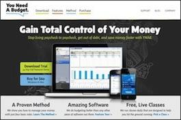YNAB 3 Home Page